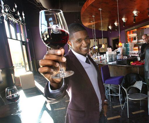 Usher at Grape Restaurant