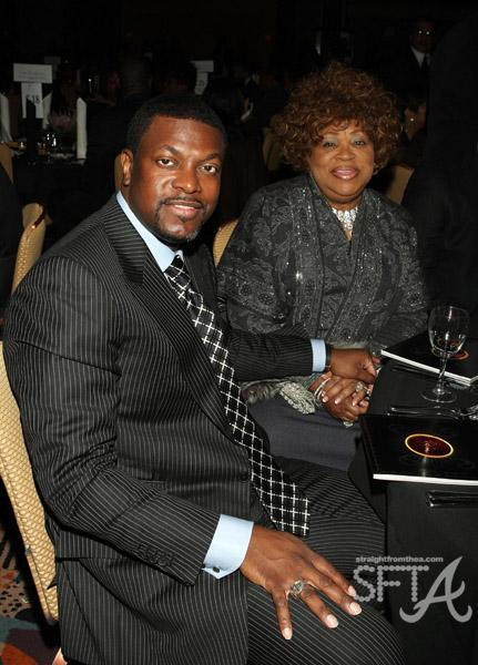 Chris Tucker & Mother