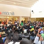 Crowd at South Dekalb Mall Real Atlanta Housewives Event