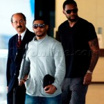 Spotted ~ Usher Leaving Brazilian Hospital/Headed Back to the States