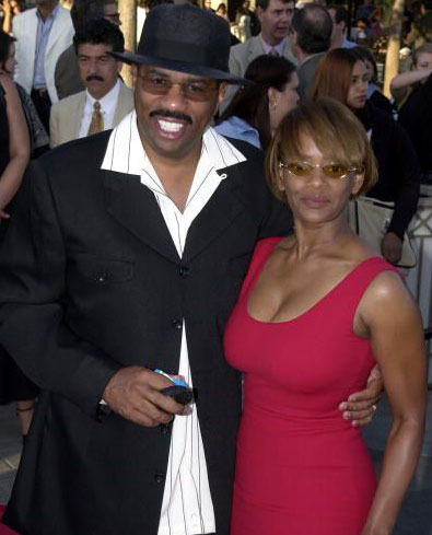 Steve Harvey & 1st wife