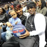 Black Love & Basketball ~ ATL Celebs Hit Up Hawks Game