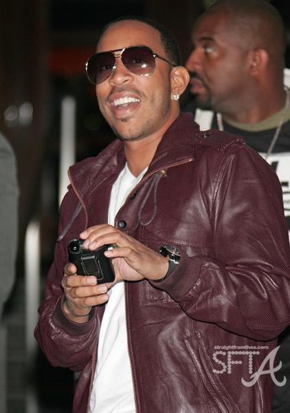 Ludacris in L.A. at A/X Watch Launch