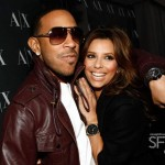 Ludacris & Eva Longoria-Parker in L.A. at A/X Watch Launch
