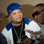 Ron Brownz, DJ Hurricane, Slim (kicking in btwn takes)
