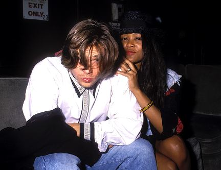 Brad Pitt & Robin Givens Back in the Day