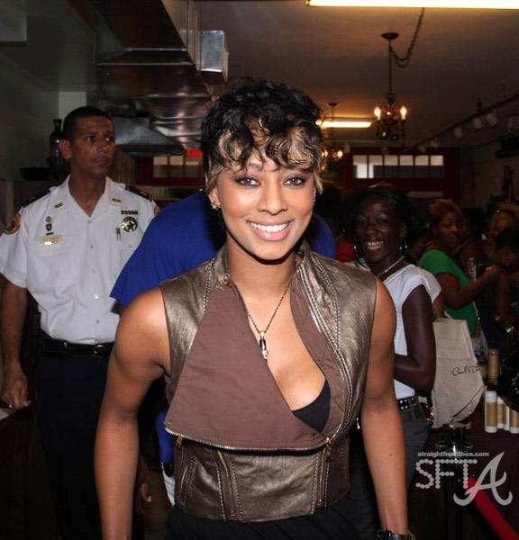 Keri at Carol's Daughter in New Orleans (Essence fest)