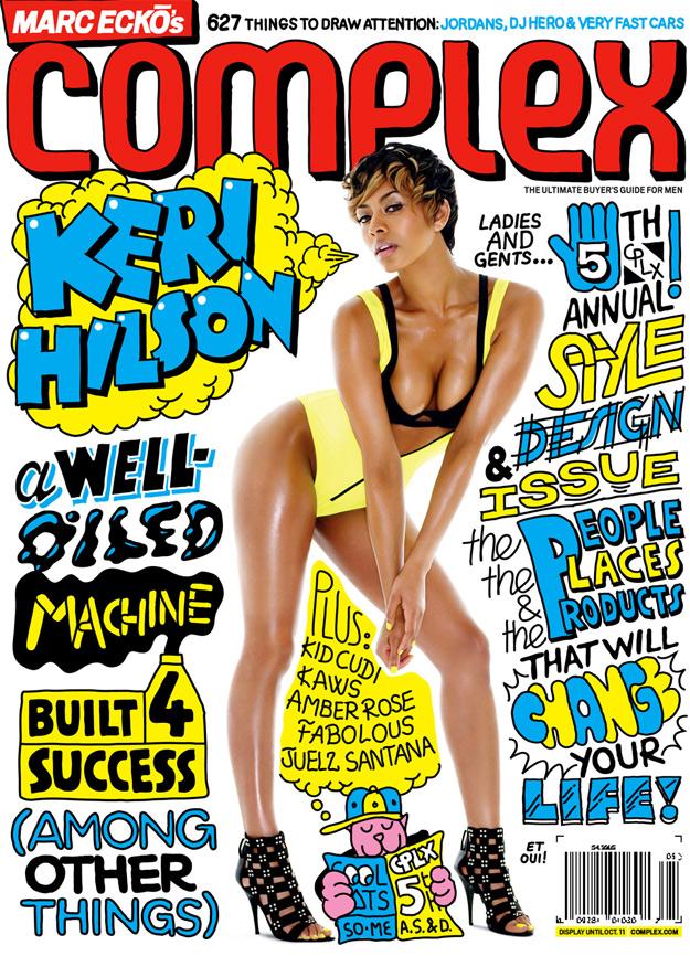 Keri Hilson Complex Aug / Sept Cover