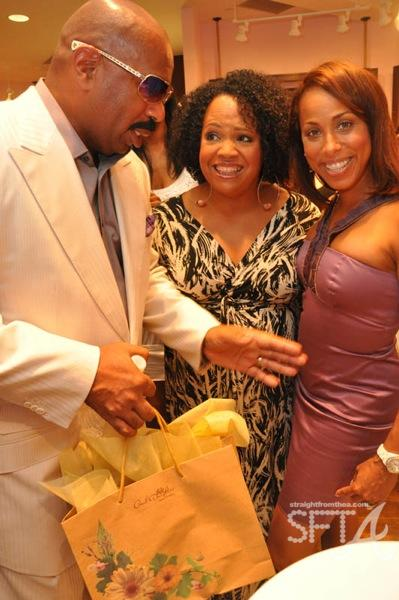 Steve Harvey &amp; Wife
