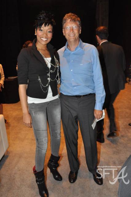 Monica & Bill Gates