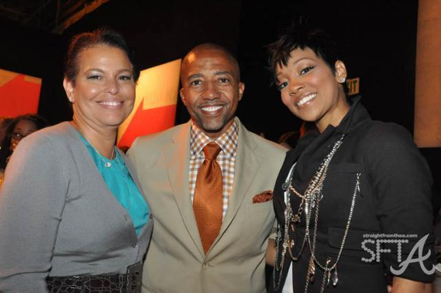 BET's Debra Lee, Kevin Liles, Monica