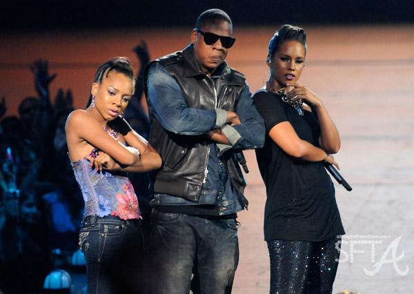Lil Mama, Jay-Z, Alicia Keys