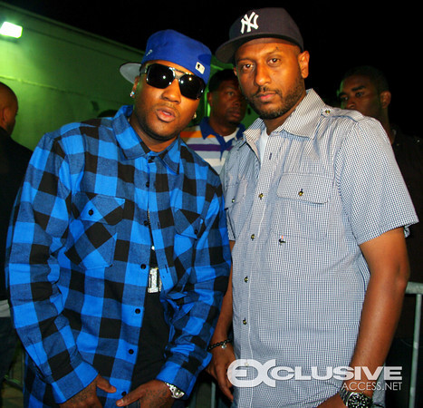 Jeezy and Alex Gidewon (AG Entertainment)