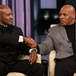 In Case You Missed It ~ Mike Tyson & Evander Holyfield Reunite On Oprah (Full Video)