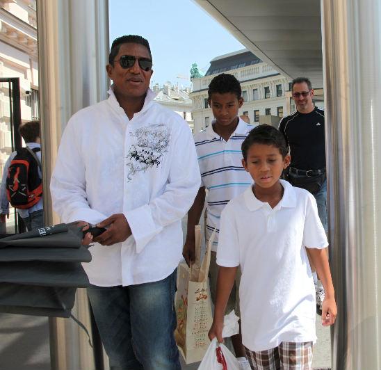 Jermaine Jackson & Children