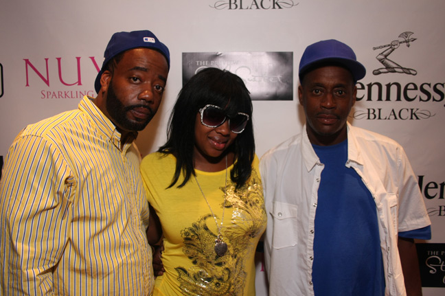 Neffe, Soullow & Vic ~ 2009 BET Hip Hop Awards Preview Style Suite