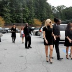 "Arrivals ~ Ashley ""AJ"" Jewell Funeral"