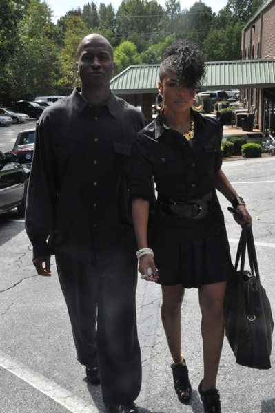 "Rasheeda & Guest ~ Ashley ""AJ"" Jewell Funeral"