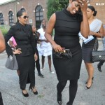 "Lisa Wu Hartwell & NeNe Leakes ~ Ashley ""AJ"" Jewell Funeral"