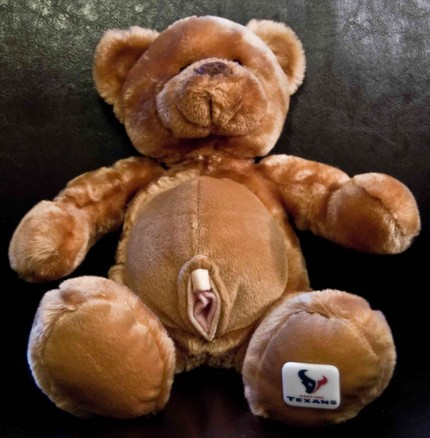 For All You Furry Fetish Freaks ~ Teddy Bear with A Coochie
