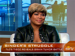 Tionne &quot;T-Boz&quot; Watkins ~ The Early Show