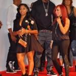 Threesomes: Tiny & Toya & James Hardy ~ BET Hip Hop Awards Red Carpet