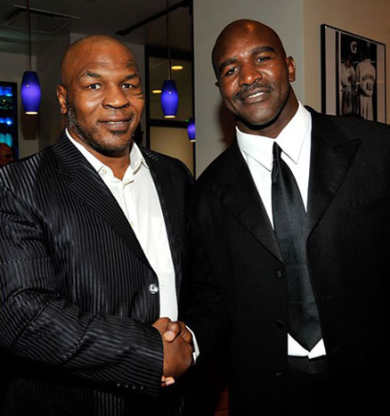 Mike Tyson & Evander Holyfield ~ 2009 ESPY Awards