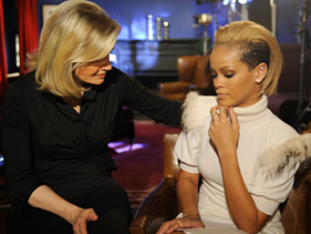 Rihanna on GMA