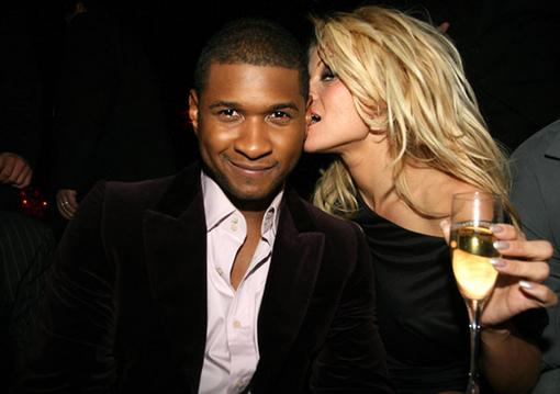 Usher & Playmate