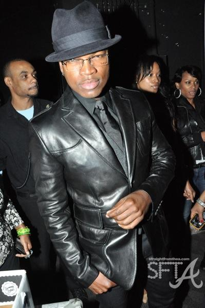 Ne-Yo at Kasim Reed Fundraiser
