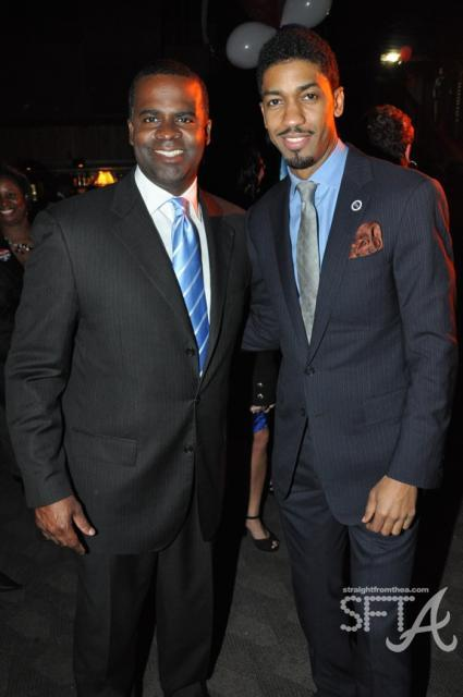 Kasim Reed &amp; Fonzworth Bentley