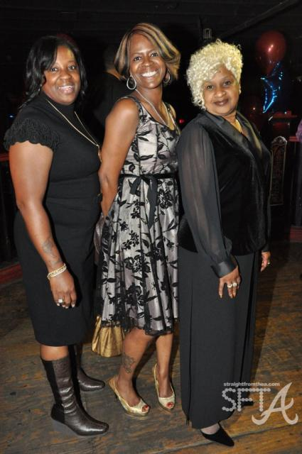 "Hip Hop Moms ~ Aliyah ""Mama Pain"" Najm (T-Pain's mother), Jacita Carter (Lil Wayne's mother) and H. Loraine Smith (Ne-Yo's mother)"
