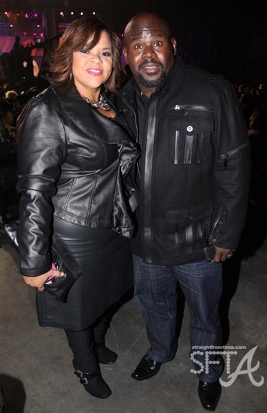 Tamela J. Mann and David Mann
