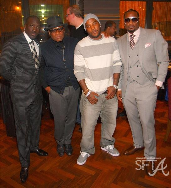 Bu, L.A. Reid, Young Jeezy, Devyne Stephens ~ Dinner With The President