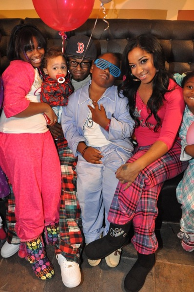 Lil Wayne's Big Happy Family