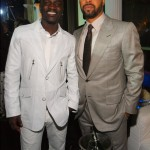 Devyne Stephens Christmas Party 2009 ~ Akon & Kenny Burns