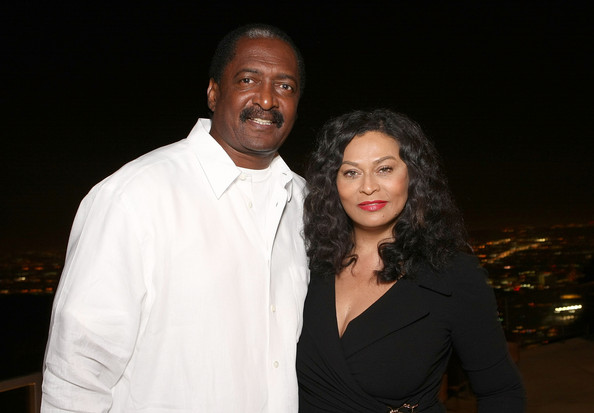 Tina & Matthew Knowles