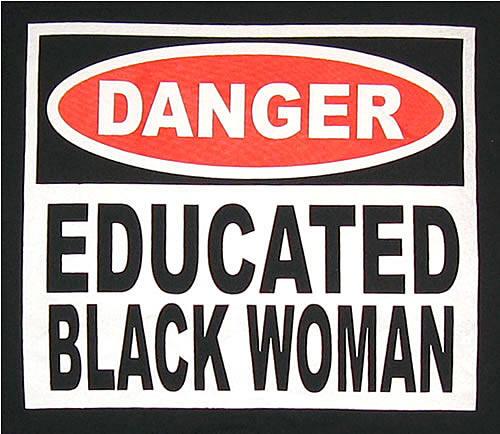 educated black woman