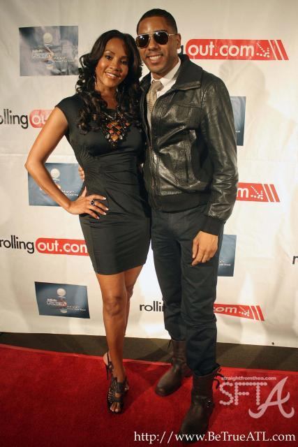 Vivica Fox &amp; Publicist BJ Coleman