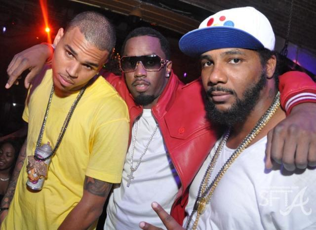 Chris Brown, Diddy & Polow