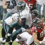 Eagles Falcons Vick Retruns To Atlanta Football