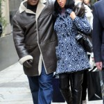 Mike Tyson and Lakiha shop in Milan