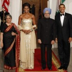 Michelle Obama's State Dinner Dress By Naeem Khan (PHOTOS)
