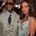 Usher & Mya ~ 2010 Grammy Awards Red Carpet