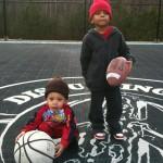 Celebrity Twitpics ~ Ludacris Babysits for Monica