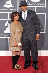 LL Cool J & Wife (Simone)