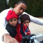 Celebrity Twitpics ~ Ludacris Babysits for Monica