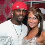 Mike Vick Superbowl Sighting + His Celebrity Crush Revealed!