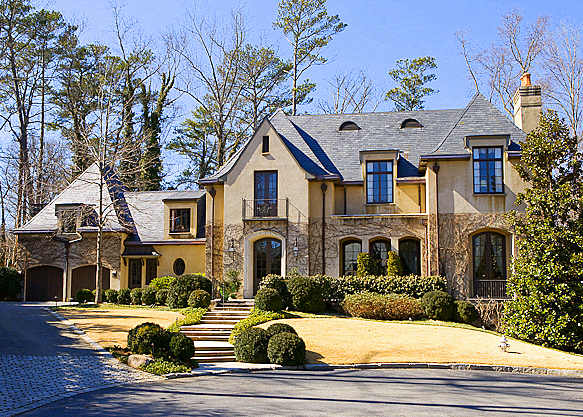 Allen iverson purchases 4 5 million atlanta mansion photos for Dream homes georgia