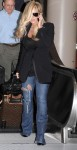 Kim Zolciak Arriving At LAX